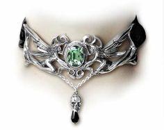 Amazon.com: La Fleur de Baudelaire Gothic Choker style Necklace: Jewelry