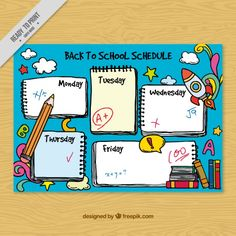 Painted the campus course schedule Vector AI Back To School Sales, First Day Of School, Bullet Journal Ideas Pages, Daily Journal, Timetable Template, School Timetable, Course Schedule, School Schedule, School Frame