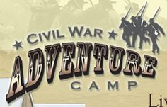 Civil War re-enactment camp.  Must do this soon.  Yankee all the way!