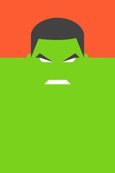 Re Vision Pop Culture Icons by Forma & Co cartoon comic Marvel superhero Marvel The Avengers Hulk