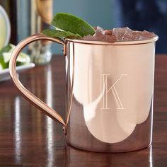 Home Wet Bar Nikolay Engraved 18 oz. Moscow Mule Mug Monogram: F