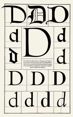 Alphabet - D