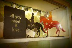 """All you need is love"" #word #inspiringquotes Plus #equestriangifts #dressagegifts  #GardenDeva www.gardendeva.com"