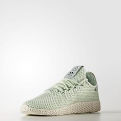 best website 0c7f7 5c354 CP9765 Pharrell Williams x adidas Tennis HU Linen Green (4) Pharrell  Williams, Williams