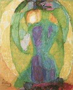 Frantisek Kupka - The Oval Mirror, 1911 Oval Mirror, Mirror Art, Mirrors, Mondrian, Abstract Expressionism, Abstract Art, Frantisek Kupka, Art Amour, Figurative Kunst