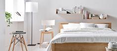 Sypialnia w skandynawskim stylu Bed, Furniture, Home Decor, Decoration Home, Stream Bed, Room Decor, Home Furnishings, Beds, Home Interior Design