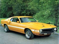 1969 Shelby Ford Mustang GT350