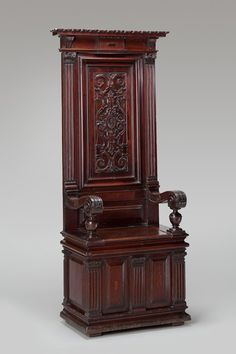 French, 16th century, period of Francis I (r. 1515–1547)       Prelate's Chair