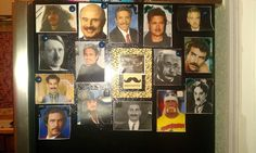 Famous Mustaches Game: Number them and name the celebs!