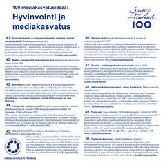 100 mediakasvatusideaa – hyvinvointi ja media » Mediakasvatus