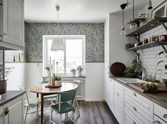 Scandinavian Interior With 1940's Charm