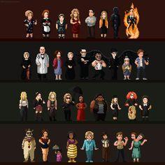 (Animated) American Horror Story: Tribute by bbrunomoraes.deviantart.com on @DeviantArt