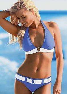 Ellis swim interlinked halter bikini have