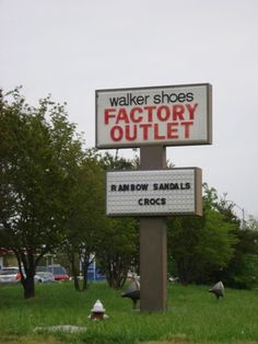 Outlet featuring Rainbows, Crocs, and Sperrys and other name brand shoes for the family at low wholesale prices. Hours of Operation	Mon - Sat, 9 am - 7 pm; Sun, 1 - 6 pm Address	414 E Dixie Dr Asheboro NC 27203 Phone 336-625-1815