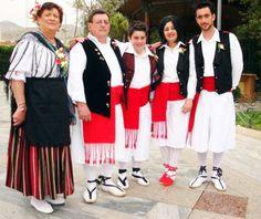 Traje regional tradicional de Murcia.
