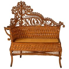 Heywood Wakefield rattan furniture circa late 1800's, early 1900's.