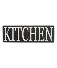 Take a look at this 'Kitchen' Indoor/Outdoor Wall Sign today!