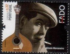 Albania Stamps 2013   Portugal Music Stamps