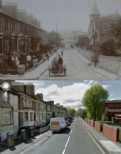 Bristol Then & Now - Dean Lane, Bedminster City Of Bristol, Bristol Uk, Beautiful Places To Travel, Great Places, Domesday Book, Bristol England, Old Street, Then And Now, The Locals