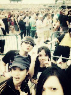 See you soon!!!(๑•̀ㅂ•́)و @BassistBOH @mikio158cm @aoyama_hideki #BABYMETAL #BMWT2015 #kamiband