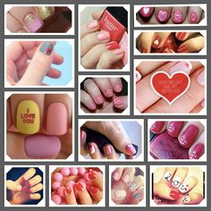 #Valentines #Nail #Art Make sure to check out http://www.thepolishobsessed.com for nail art, tutorials, giveaways and more!