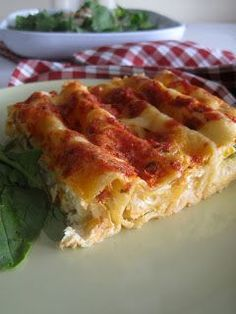 Cannelloni with anthotiro and vegetables Greek Recipes, Baby Food Recipes, Pasta Recipes, Cooking Recipes, Greek Cooking, Cooking Time, Different Recipes, Other Recipes, Pasta Dishes
