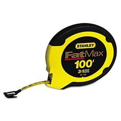 Stanley Tools FatMax Long Tape Measure, 100ft, Multicolor