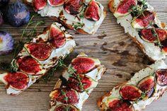 Para sorprender: Bruschettas de higos con queso azul.(paso a paso) | Cocina