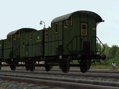 K.P.E.V. #Personenzug-Gepäckwagen, #Pwi pr84 - Set 1 Bis #EEP6