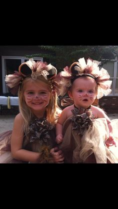 Halloween costume 2012 lion tutu