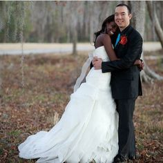 Isn't this couple adorable? They've been married three years! @luckyrabbit17. #relationshipgoals #ambw #bwam
