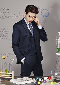 Kim Hyun Joong aka Kim Woo Bin for Sieg's Spring / Summer ad campaign (2014)