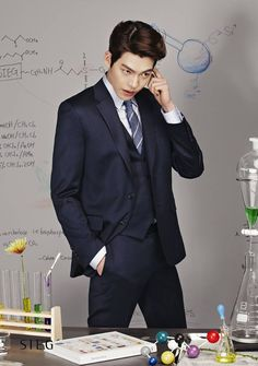 Kim Woo Bin (김우빈) for Sieg's Spring / Summer ad campaign (2014)