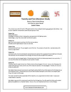 The Twenty and Ten Unit Study is a great way for children to begin to grasp the impact of the Nazi Occupation on the children who lived through it.