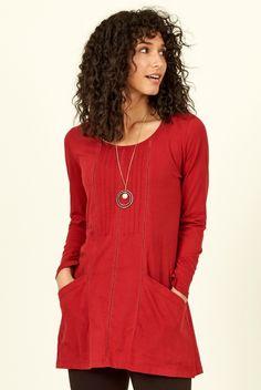 NOMADS Organic Cotton Jersey Fuschia Pink Long Sleeve T-Shirt Top FairTrade