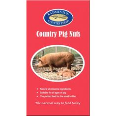 Badminton Country Pig Nuts Badminton Country Pig Nuts are a versatile yet fully balanced ration designed to suit all pigs no matter their age or stage of development. Pig Feed, Calcium Carbonate, Protein Sources, Badminton, Vitamins And Minerals, Farm Life, Vitamin E, Pigs