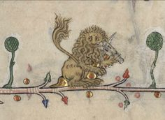 An amazing collection of bizarre and beautiful illustrations from medieval illuminated manuscripts!