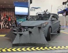 The Walking Dead Hyundai Zombie Apocalypse Survival Machine Unveiled