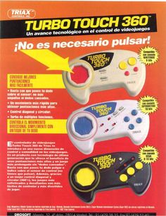 stickless controllers turbo touch 360