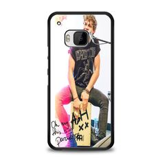 5SOS Ashton Irwin Signature HTC One M9 Case   yukitacase.com