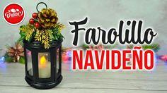 DIY NAVIDAD - Farol Navideño reciclando tapas de plástico   DREEN Christmas Decorations For The Home, Ramadan Decorations, Christmas Crafts, Christmas Ornaments, New Year's Crafts, Creative Crafts, Paper Crafts, Tree Centerpieces, 242
