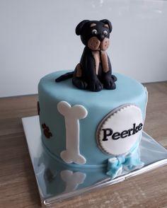 Honden taart/ dog cake