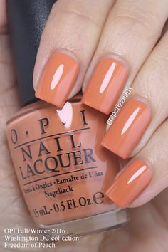 I have the new OPI Washington DC Collection to share with you today! OPI teamed with actress Kerry Washington for this fifteen-piece polish Fall/Winter 2016 collection. While Source by afostercrowe nails Fancy Nails, Trendy Nails, Cute Nails, Opi Nails, Manicure And Pedicure, Wedding Nail Polish, Essie, Gorgeous Nails, Nail Polish Colors