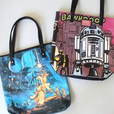 Loungefly x Star Wars tote bags