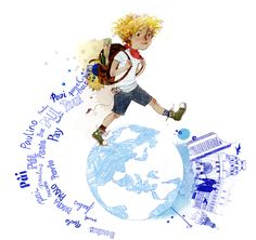 "Paul mach einen großen Schritt: er zieht nach Leipzig. Aus dem Kinderbuch ""Willkommen in Leipzig, Paul!"" Disney Characters, Fictional Characters, Cinderella, Disney Princess, Art, Short Stories, Children's Books, Leipzig, Art Background"
