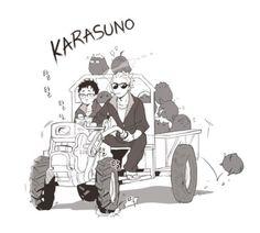 ukai x takeda Kagehina, Haikyuu Kageyama, Hinata, Manga Haikyuu, Haikyuu Funny, Haikyuu Fanart, Kenma, Haikyuu Volleyball, Volleyball Anime