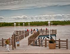 Mississippi River Observation Deck, 1 Main St. New Madrid, MO, USA. Eight panoramic miles of the Mississippi River are visible from this 120-foot-long observation deck, including the New Madrid Bend, a point of strategic significance during the Civil War.