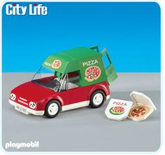 Playmobil Pizza Delivery Car $16.99 (William, age 4+)