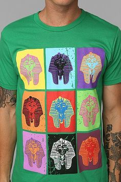 Designer Inspiration: Men's Pharaoh Tee from Urban Outfitters