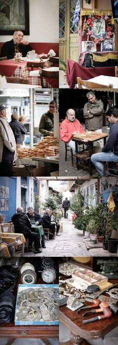 Nordljus: Athens Snaps - and Frozen Yoghurt with Greek Olive Oil